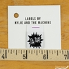 Kylie and the Machine, Woven Labels, Ta-Da