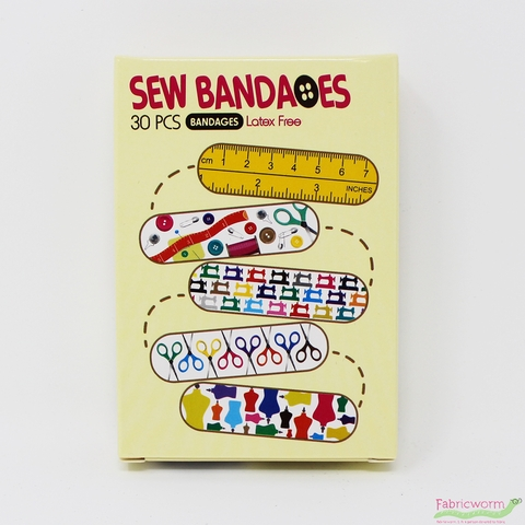 Latex Free Sewing Themed Bandages