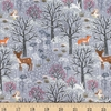 Lewis & Irene, Winter in Bluebell Wood, Winter Woods Grey