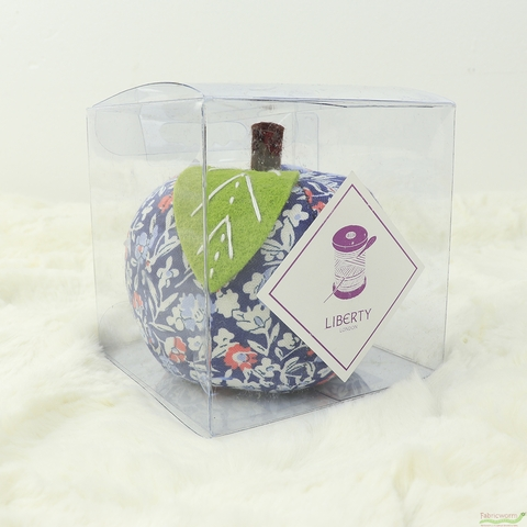 Liberty London Accessories, Apple Pincushion, Orchard Multi