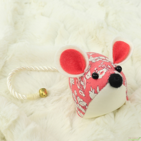 GIFTS Liberty London Accessories, Mouse Pincushion, Orchard Rose