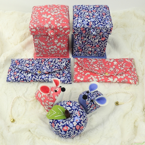 GIFTS Liberty London Accessories, Sewing Roll, Orchard Rose