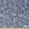 Liberty London Fabrics, The English Garden, Emily Silhouette Blue