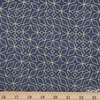 Libs Elliot for Andover, Almost Blue, Stitch Indigo Metallic Fat Quarter