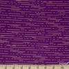 Libs Elliot for Andover, Greatest Hits Vol 1 Metallic, Dashes Violet Fat Quarter