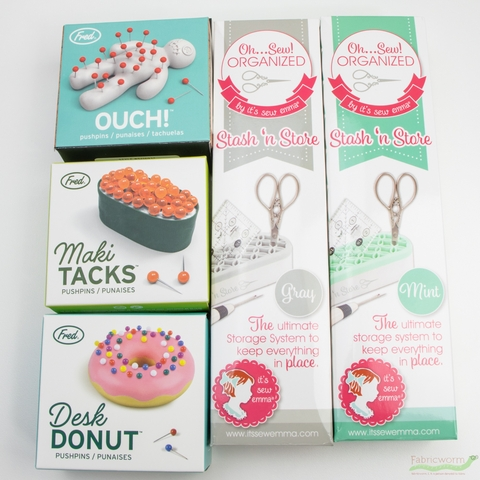 Lifetime Brands, Fred Push Pins, Desk Donut