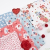 Lindsay Wilkes for Riley Blake, Love Letters in FAT QUARTERS 5 Total