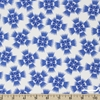 Linzee McCray for Moda, Feed Sacks: True Blue, Starburst Cornflower