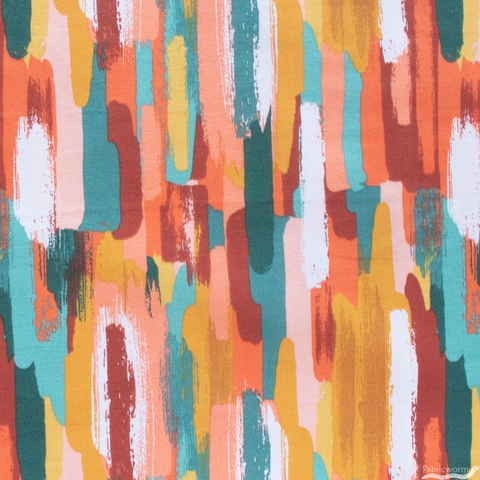 Lisa Whitebutton for 3 Wishes, Painted Soul, Brushstrokes Multi