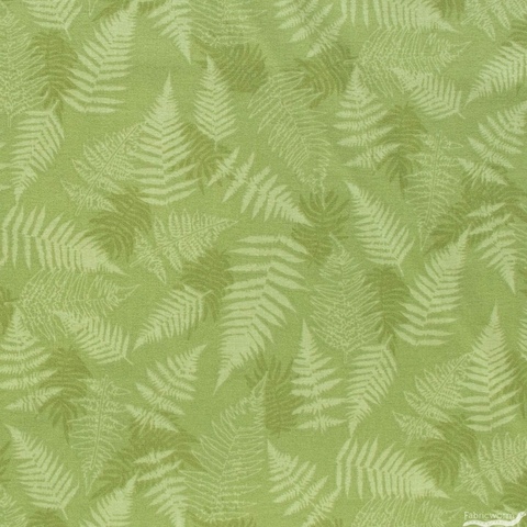 Lisa Whitebutton for 3 Wishes, Painted Soul, Ferns Green