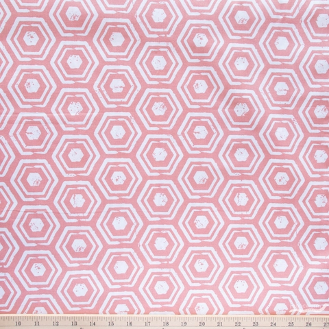 Lisa Whitebutton for 3 Wishes, Painted Soul, Hexagon Coral