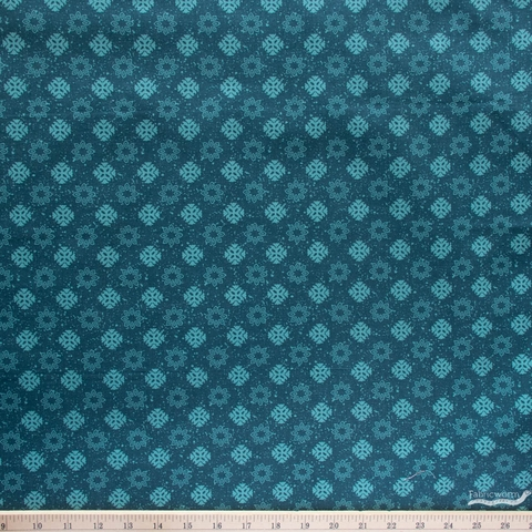Lisa Whitebutton for 3 Wishes, Painted Soul, Midnight Geos Turquoise