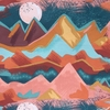 Lisa Whitebutton for 3 Wishes, Painted Soul, Mountains Multi