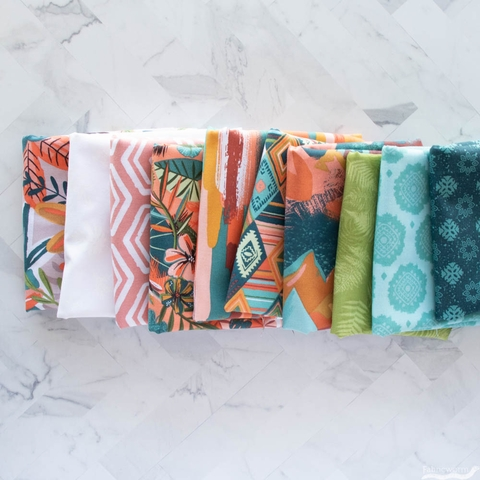 Lisa Whitebutton for 3 Wishes, Painted Soul Precut FAT QUARTERS 10 Total