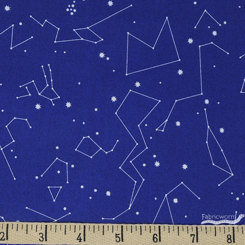 Lizzy House for Andover, Constellations, Blue