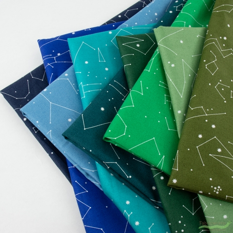 Lizzy House for Andover, Constellations, Gazing Field in FAT QUARTERS 9 Total