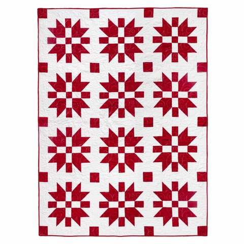 Lo & Behold Stitchery, Sewing Patterns, Christmas Joy Quilt