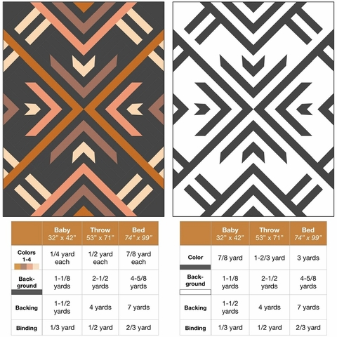 Lo & Behold Stitchery, Sewing Patterns, Homecoming Quilt