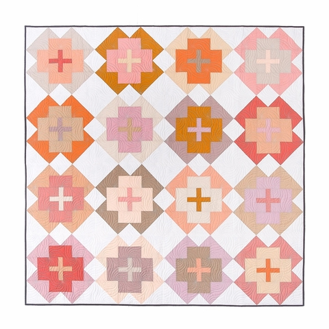 Lo & Behold Stitchery, Sewing Patterns, Nightingale Quilt
