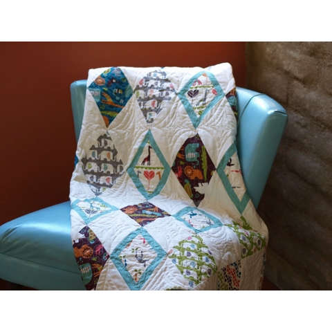 Lunden Designs, Sewing Pattern, Big Top Quilt