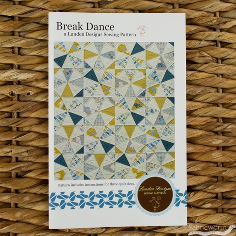 Lunden Designs, Sewing Pattern, Break Dance Quilt