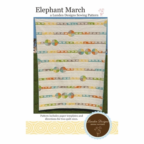Lunden Designs, Sewing Pattern, Elephant March