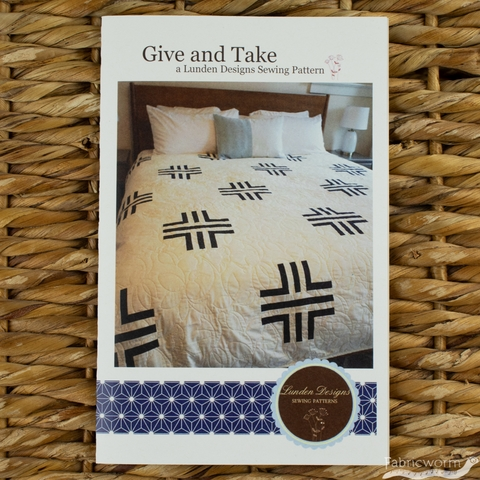 Lunden Designs, Sewing Pattern, Give and Take Quilt