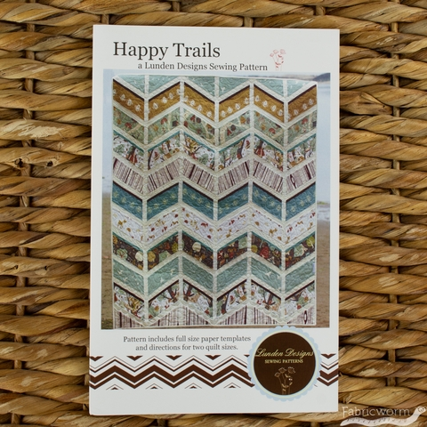 Lunden Designs, Sewing Pattern, Happy Trails Quilt