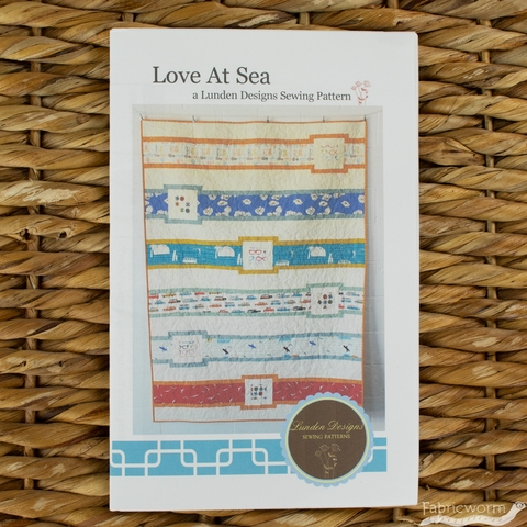 Lunden Designs, Sewing Pattern, Love At Sea Quilt