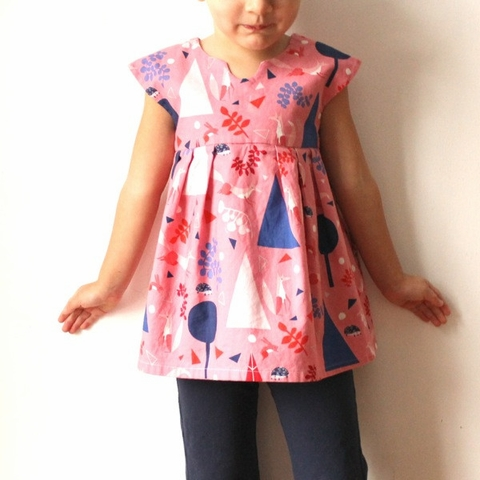 Made By Rae, Sewing Pattern, Geranium Dress