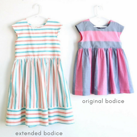 Made By Rae, Sewing Pattern, Geranium Dress Expansion Pack