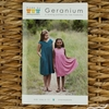 Made By Rae, Sewing Pattern, Geranium Dress (Kid's 6-12)
