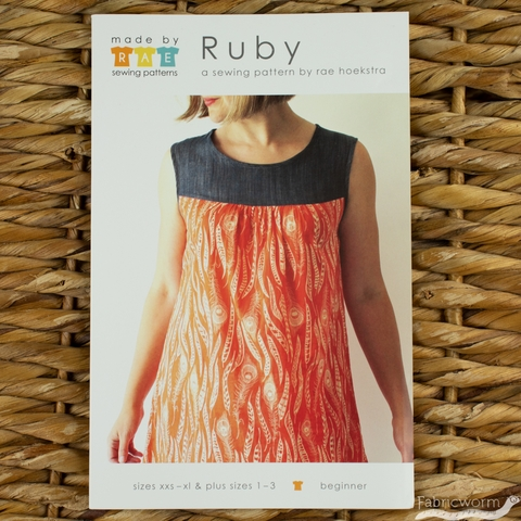 Made By Rae, Sewing Pattern, Ruby