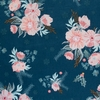 Maureen Cracknell for Art Gallery, Cozy & Magical, Frosted Roses Midnight