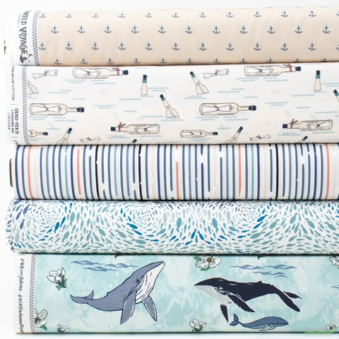 Maureen Cracknell for Art Gallery, Enchanted Voyage, Day in HALF YARDS 5 Total