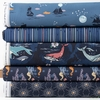 Maureen Cracknell for Art Gallery, Enchanted Voyage, Night in HALF YARDS 5 Total