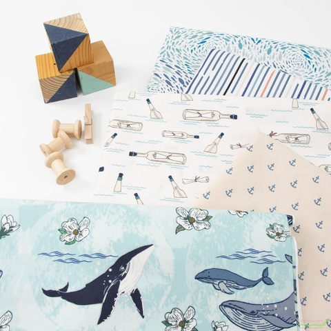 Maureen Cracknell for Art Gallery, Enchanted Voyage, Ocean Notes