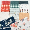 Maureen Cracknell for Art Gallery Fabrics, Cozy & Joyful, Made With Love