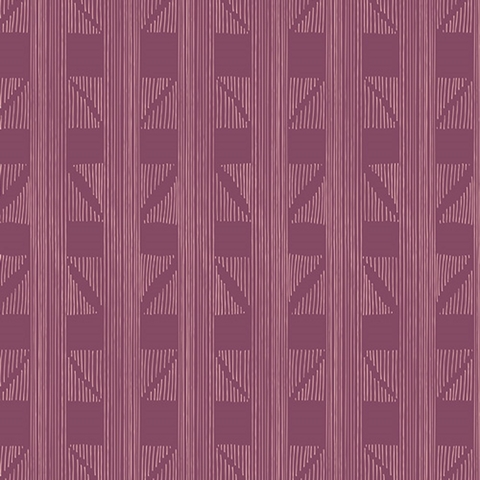 Maureen Cracknell for Art Gallery Fabrics, Fleet & Flourish, Expanded Aim Violet
