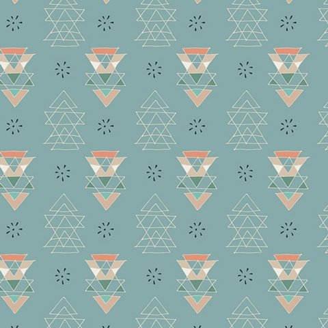 Maureen Cracknell for Art Gallery Fabrics, Fleet & Flourish, Miniments Unpolished