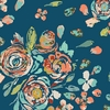 Maureen Cracknell for Art Gallery Fabrics, Fleet & Flourish Voile, Swifting Flora Swell
