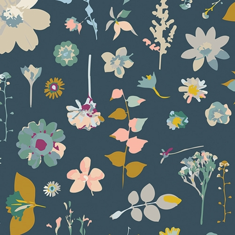 Maureen Cracknell for Art Gallery Fabrics, Garden Dreamer, Moment In Time Dim