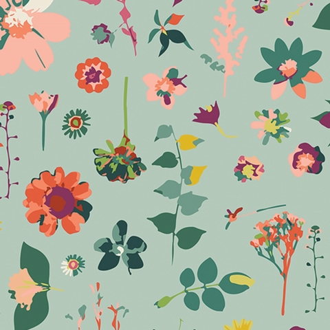 Maureen Cracknell for Art Gallery Fabrics, Garden Dreamer, Moment In Time Light