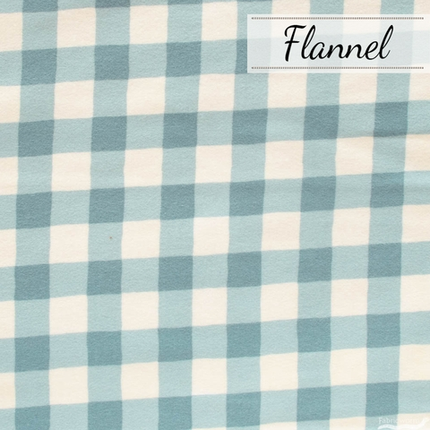 Maureen Cracknell for Art Gallery, Flannel, Plaid of My Dreams Sky