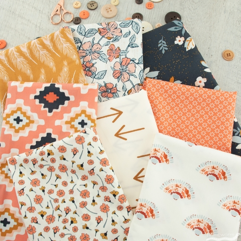 Maureen Cracknell for Art Gallery, Homebody, Cozied Up Bundle 8 Total