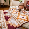 Mayan Mosaic Quilt Kit Featuring Birch Organic Solids From Suzy Quilts