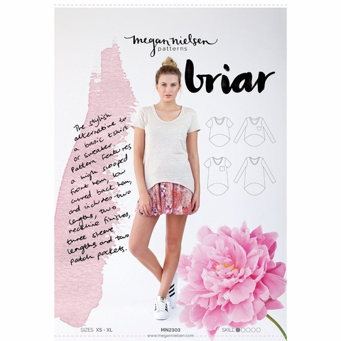 Megan Nielsen, Sewing Pattern, Briar Sweater and TShirt