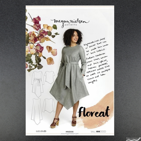 Megan Nielsen, Sewing Pattern, Floreat Dress and Top