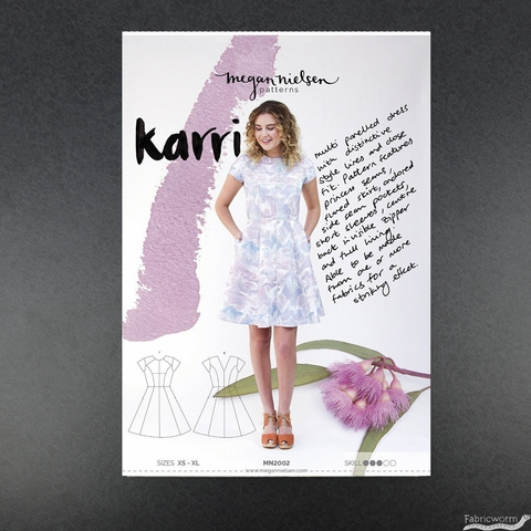 Megan Nielsen, Sewing Pattern, Karri Dress