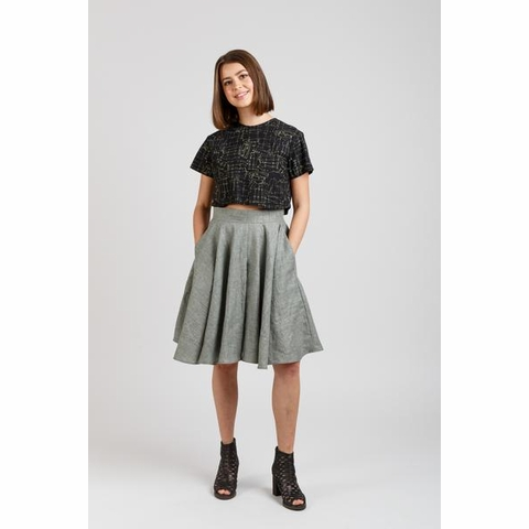 Megan Nielsen, Sewing Pattern, Tania Culottes